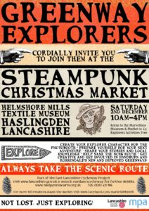 Steampunk Marketing Poster - Dec 2017